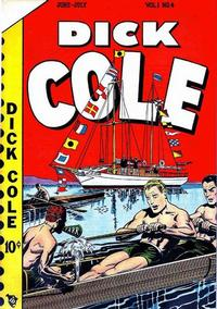 Cover Thumbnail for Dick Cole (Novelty / Premium / Curtis, 1948 series) #v1#4 [4]