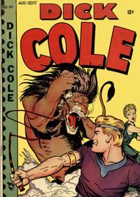 Cover Thumbnail for Dick Cole (Novelty / Premium / Curtis, 1948 series) #v1#5 [5]