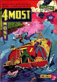Cover Thumbnail for 4Most (Novelty / Premium / Curtis, 1941 series) #v1#4 [4]