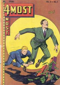 Cover Thumbnail for 4Most (Novelty / Premium / Curtis, 1941 series) #v6#2 [22]