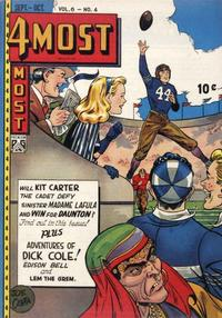 Cover Thumbnail for 4Most (Novelty / Premium / Curtis, 1941 series) #v6#4 [24]
