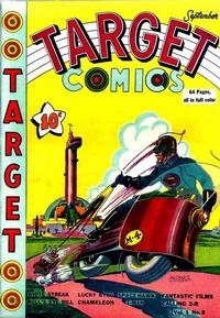 Cover Thumbnail for Target Comics (Novelty / Premium / Curtis, 1940 series) #v1#8 [8]