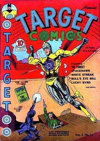 Cover for Target Comics (Novelty / Premium / Curtis, 1940 series) #v1#10 [10]