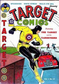 Cover Thumbnail for Target Comics (Novelty / Premium / Curtis, 1940 series) #v1#12 [12]