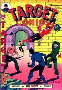Cover Thumbnail for Target Comics (Novelty / Premium / Curtis, 1940 series) #v2#12 [24]