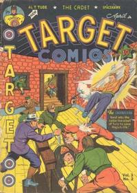 Cover Thumbnail for Target Comics (Novelty / Premium / Curtis, 1940 series) #v3#2 [26]