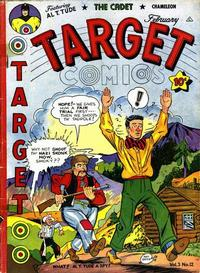 Cover Thumbnail for Target Comics (Novelty / Premium / Curtis, 1940 series) #v3#12 [36]