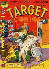 Cover Thumbnail for Target Comics (Novelty / Premium / Curtis, 1940 series) #v4#1 [37]