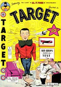 Cover for Target Comics (Novelty / Premium / Curtis, 1940 series) #v4#4 [40]