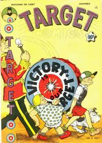 Cover for Target Comics (Novelty / Premium / Curtis, 1940 series) #v4#7 [43]
