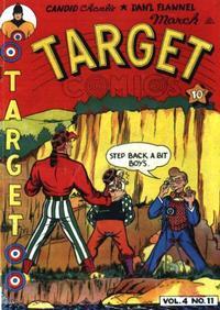 Cover for Target Comics (Novelty / Premium / Curtis, 1940 series) #v4#11 [47]
