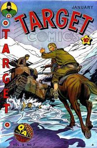 Cover for Target Comics (Novelty / Premium / Curtis, 1940 series) #v5#7 [55]