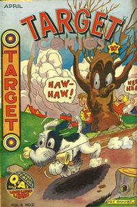 Cover for Target Comics (Novelty / Premium / Curtis, 1940 series) #v6#2 [58]