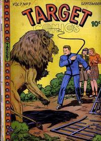 Cover for Target Comics (Novelty / Premium / Curtis, 1940 series) #v7#7 [73]