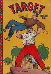 Cover for Target Comics (Novelty / Premium / Curtis, 1940 series) #v7#10 [76]