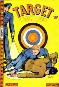Cover for Target Comics (Novelty / Premium / Curtis, 1940 series) #v7#11 [77]