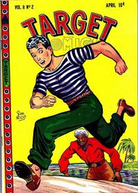Cover for Target Comics (Novelty / Premium / Curtis, 1940 series) #v8#2 [80]