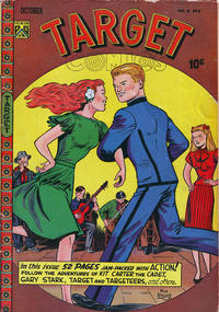 Cover Thumbnail for Target Comics (Novelty / Premium / Curtis, 1940 series) #v8#8 [86]