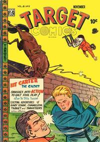 Cover for Target Comics (Novelty / Premium / Curtis, 1940 series) #v8#9 [87]