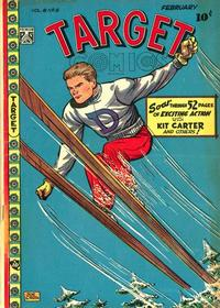 Cover Thumbnail for Target Comics (Novelty / Premium / Curtis, 1940 series) #v8#12 [90]
