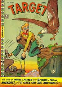 Cover for Target Comics (Novelty / Premium / Curtis, 1940 series) #v9#2 [92]