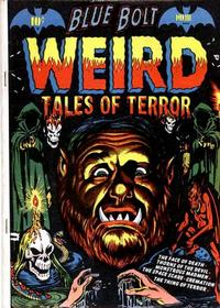 Cover Thumbnail for Blue Bolt Weird Tales of Terror (Star Publications, 1951 series) #111