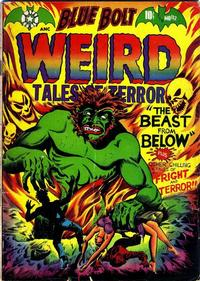 Cover Thumbnail for Blue Bolt Weird Tales of Terror (Star Publications, 1951 series) #112