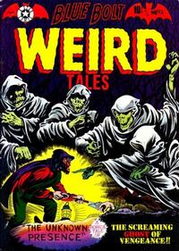 Cover Thumbnail for Blue Bolt Weird Tales of Terror (Star Publications, 1951 series) #113