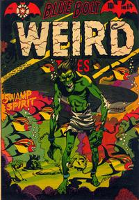 Cover Thumbnail for Blue Bolt Weird Tales of Terror (Star Publications, 1951 series) #114
