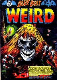 Cover Thumbnail for Blue Bolt Weird Tales of Terror (Star Publications, 1951 series) #115