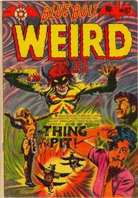 Cover Thumbnail for Blue Bolt Weird Tales of Terror (Star Publications, 1951 series) #117