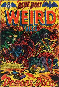 Cover for Blue Bolt Weird Tales of Terror (Star Publications, 1951 series) #119
