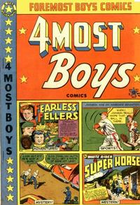 Cover Thumbnail for Four-Most Boys Comics (Star Publications, 1949 series) #37