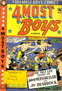 Cover Thumbnail for Four-Most Boys Comics (Star Publications, 1949 series) #38