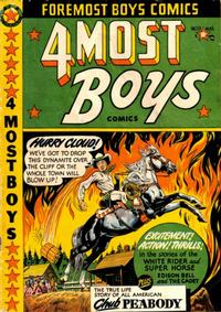 Cover Thumbnail for Four-Most Boys Comics (Star Publications, 1949 series) #39