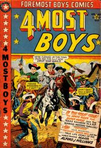 Cover Thumbnail for Four-Most Boys Comics (Star Publications, 1949 series) #40