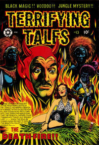 Cover Thumbnail for Terrifying Tales (Star Publications, 1953 series) #13