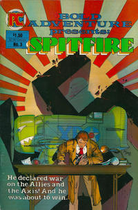 Cover Thumbnail for Bold Adventure (Pacific Comics, 1983 series) #3