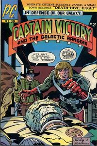 Cover Thumbnail for Captain Victory and the Galactic Rangers (Pacific Comics, 1981 series) #2