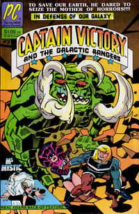Cover Thumbnail for Captain Victory and the Galactic Rangers (Pacific Comics, 1981 series) #3