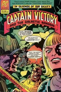 Cover Thumbnail for Captain Victory and the Galactic Rangers (Pacific Comics, 1981 series) #4