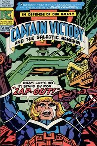Cover Thumbnail for Captain Victory and the Galactic Rangers (Pacific Comics, 1981 series) #8