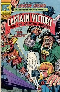 Cover Thumbnail for Captain Victory and the Galactic Rangers (Pacific Comics, 1981 series) #11