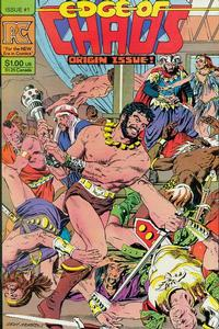Cover Thumbnail for Edge of Chaos (Pacific Comics, 1983 series) #1