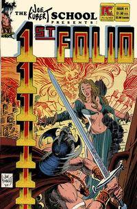 Cover Thumbnail for 1st Folio (Pacific Comics, 1984 series) #1