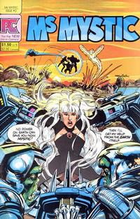 Cover Thumbnail for Ms. Mystic (Pacific Comics, 1982 series) #2