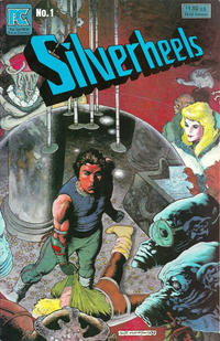 Cover Thumbnail for Silverheels (Pacific Comics, 1983 series) #1