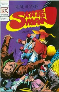 Cover Thumbnail for Skateman (Pacific Comics, 1983 series) #1