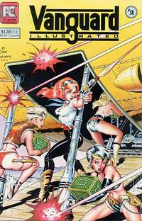 Cover Thumbnail for Vanguard Illustrated (Pacific Comics, 1983 series) #2