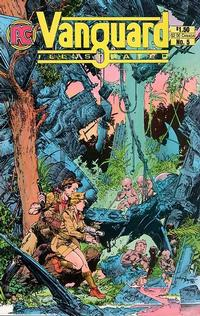 Cover Thumbnail for Vanguard Illustrated (Pacific Comics, 1983 series) #5